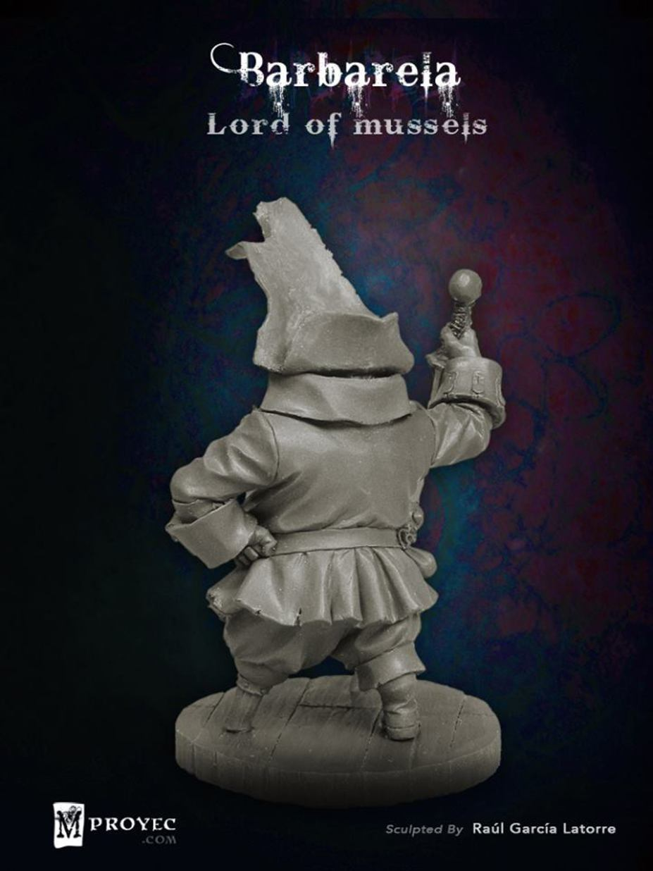 Barbarela, Lord of Mussels Small 6