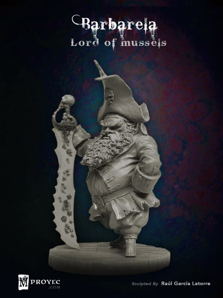 Barbarela, Lord of Mussels Small 7