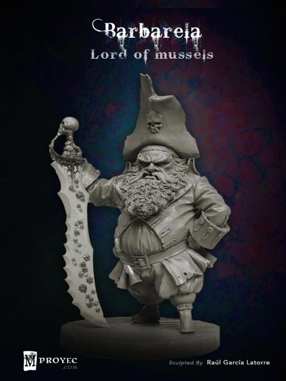 Barbarela, Lord of Mussels Small 8