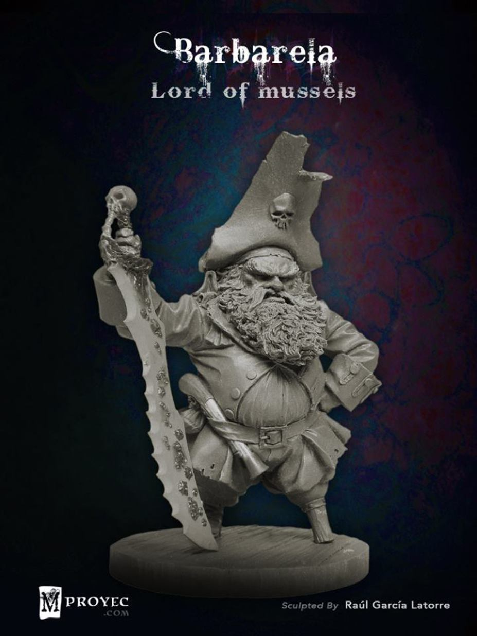Barbarela, Lord of Mussels Small 10