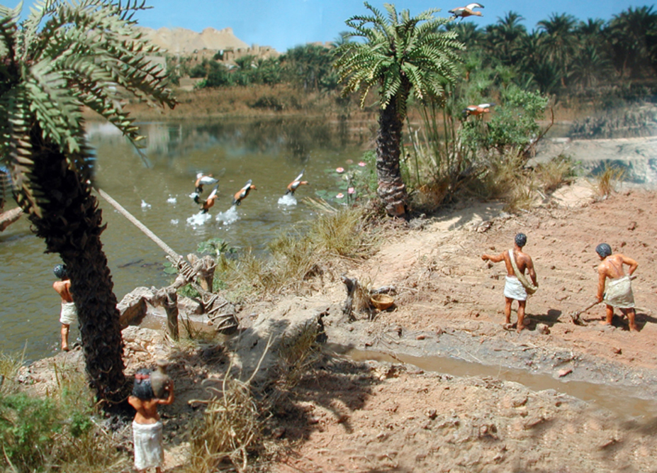 Duck hunting at the river Nile Small 4
