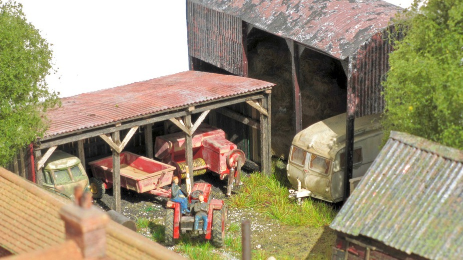 Home Farm B&B  4mm scale. Small 3