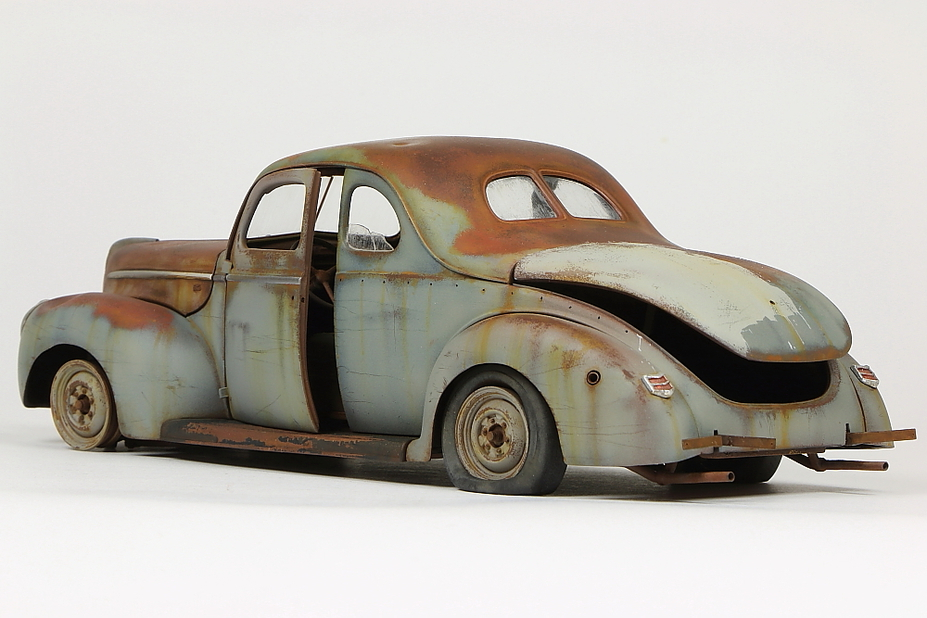 Derelict '40 Ford Coupe