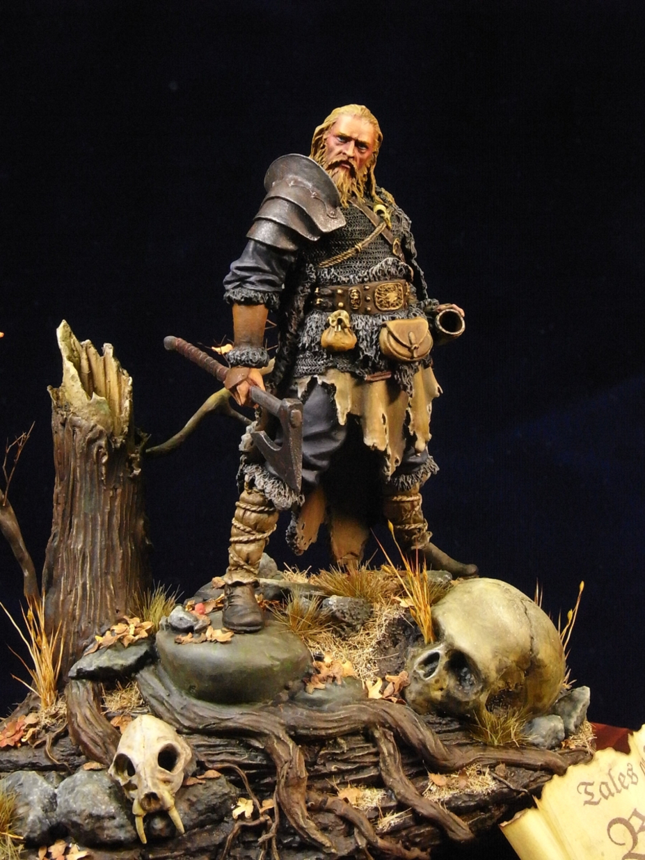 """Tales of the North"" CASTLE miniature75mm ベオウルフ"