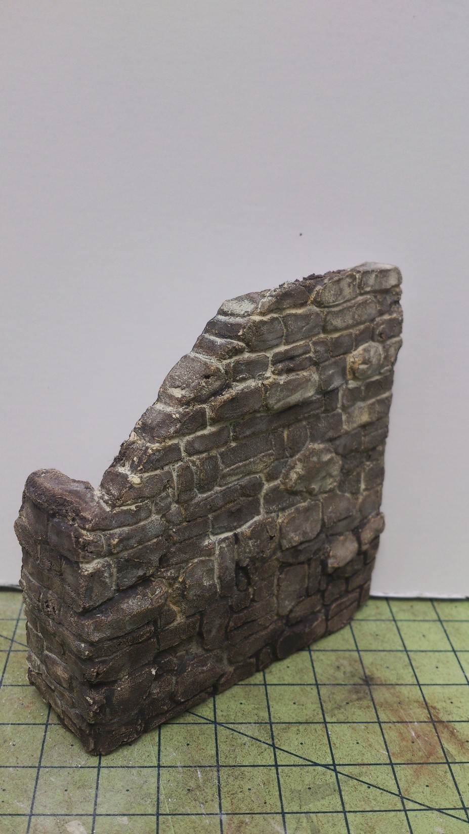Stone wall 1/35 scale