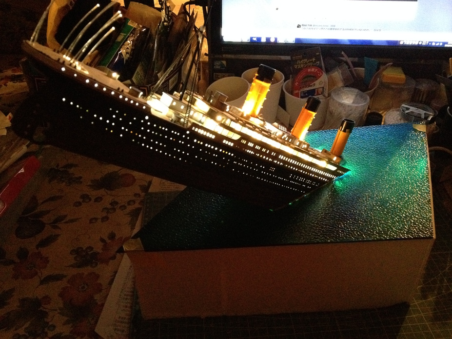 1/400 R.M.S. TITANIC  Unfinished