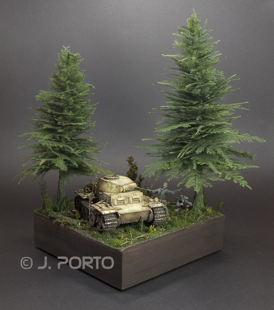 PZ II-J_Hell in the forest_1943