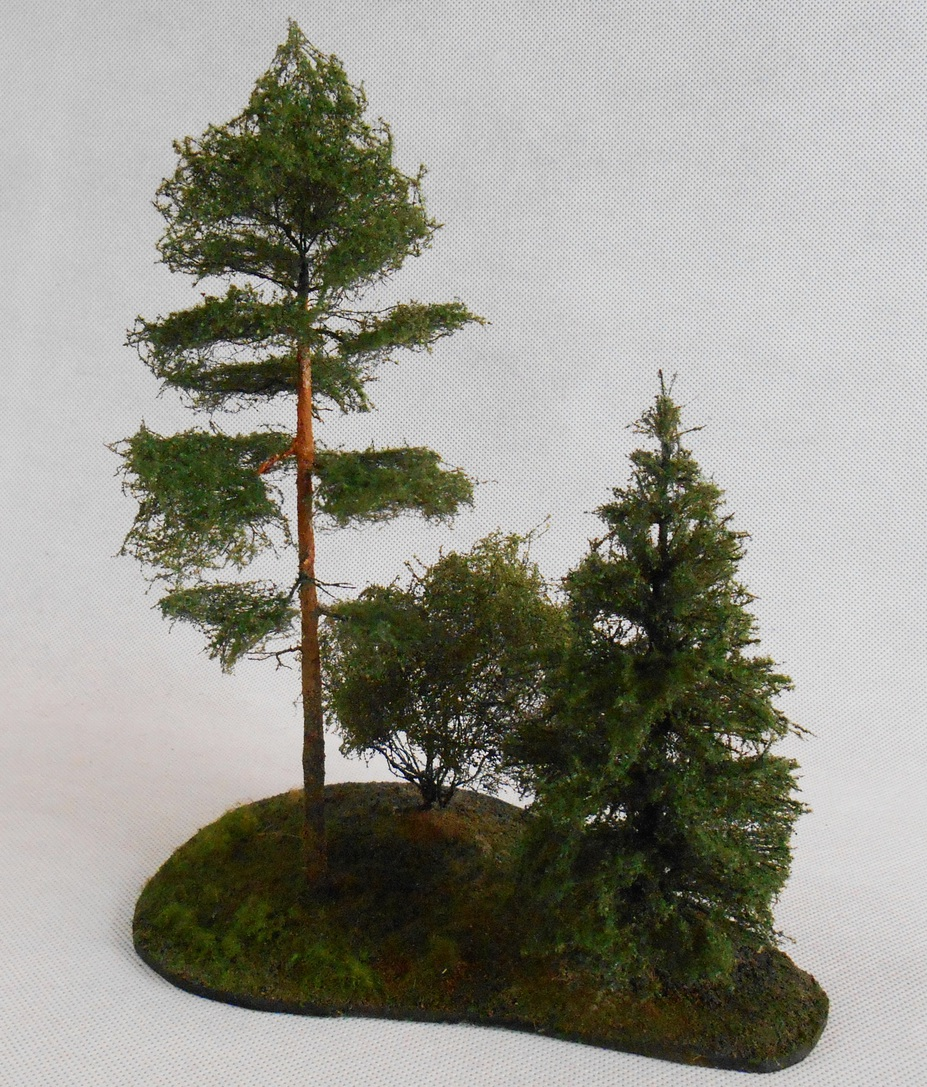 Trees for dioramas