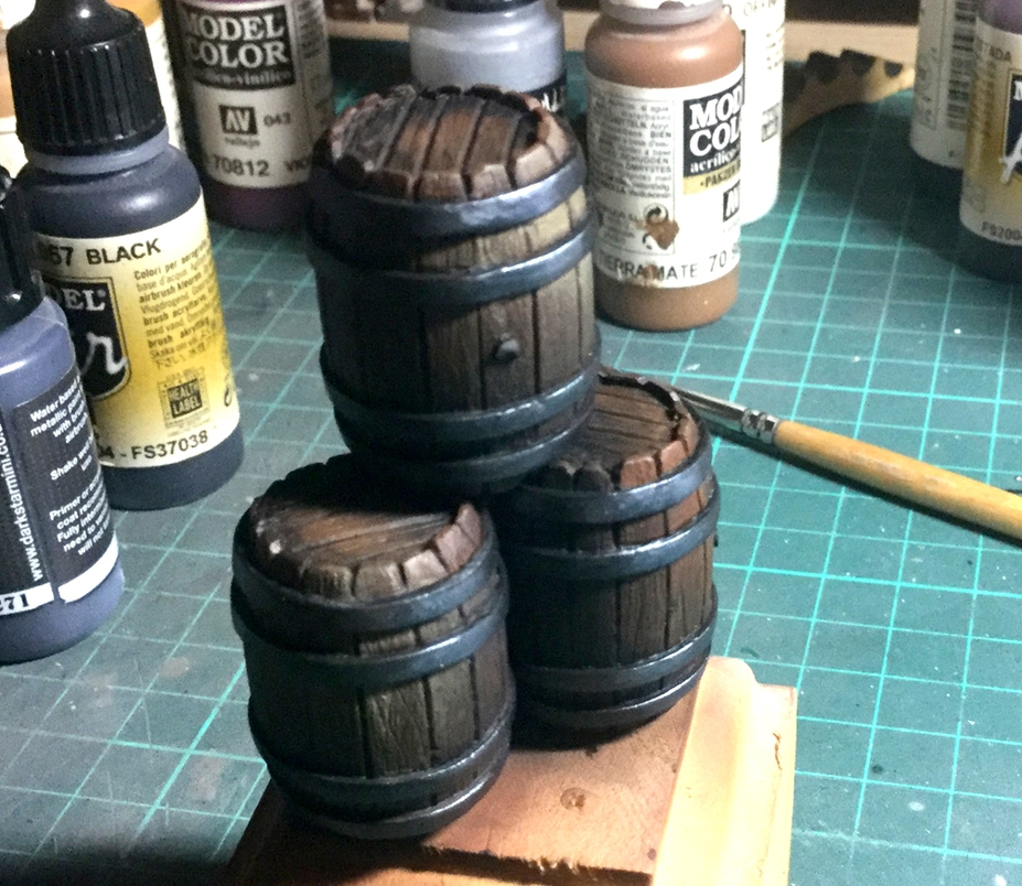 Making a miniature Wooden Barrel