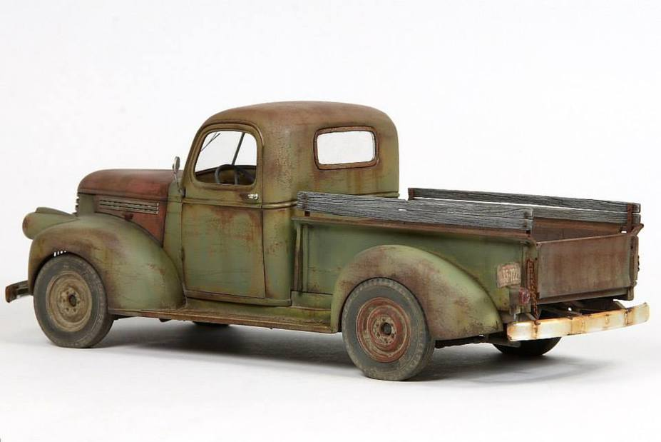 1941 Chevy Pickup, Scale 1:24
