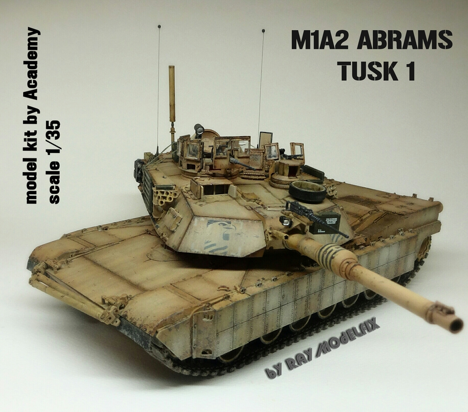 Abrams M1A2 Tusk1 Small